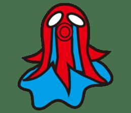 Octopus Viennese Sticker sticker #4752123