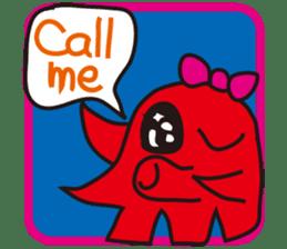 Octopus Viennese Sticker sticker #4752133