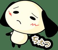 Cute dog wanchome sticker #4752311