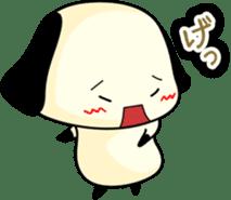 Cute dog wanchome sticker #4752321