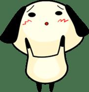 Cute dog wanchome sticker #4752327