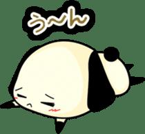 Cute dog wanchome sticker #4752330