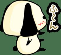 Cute dog wanchome sticker #4752337