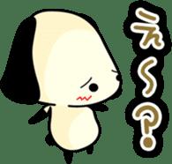Cute dog wanchome sticker #4752342