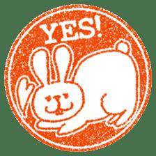 Hanko stamp sticker! sticker #4752472