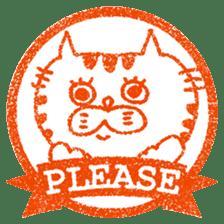 Hanko stamp sticker! sticker #4752475