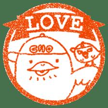 Hanko stamp sticker! sticker #4752477