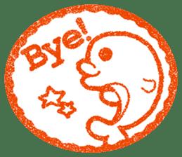 Hanko stamp sticker! sticker #4752479
