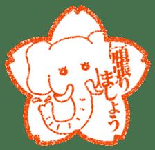 Hanko stamp sticker! sticker #4752481