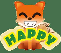 fox's world sticker #4753025