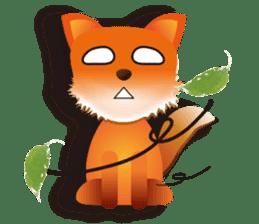 fox's world sticker #4753028