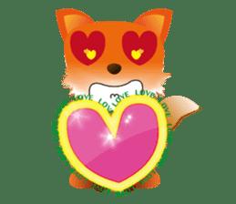 fox's world sticker #4753032
