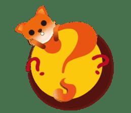fox's world sticker #4753036