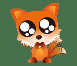 fox's world sticker #4753038