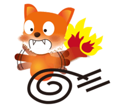 fox's world sticker #4753044