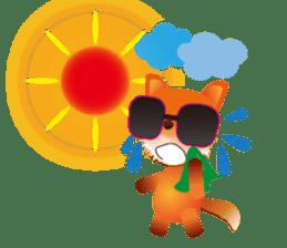 fox's world sticker #4753046