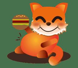 fox's world sticker #4753047