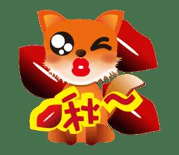 fox's world sticker #4753048