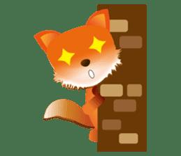 fox's world sticker #4753050