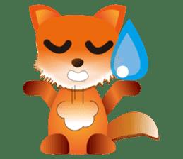 fox's world sticker #4753051