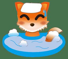 fox's world sticker #4753053