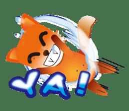 fox's world sticker #4753054