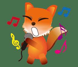 fox's world sticker #4753055