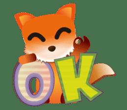 fox's world sticker #4753058