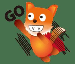 fox's world sticker #4753060