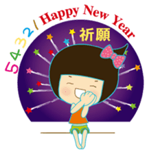 noodlegirl festival(03) sticker #4753258