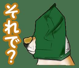 Potato chips dog. sticker #4753437
