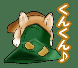 Potato chips dog. sticker #4753438