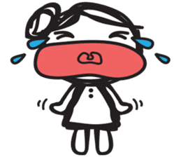 minigirl cute sticker #4754578