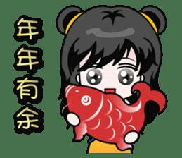 Chinese new year sticker #4754836