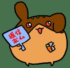 takoyakirabbit&bear sticker #4755230