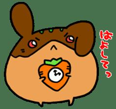 takoyakirabbit&bear sticker #4755236