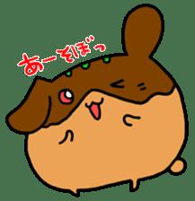 takoyakirabbit&bear sticker #4755262