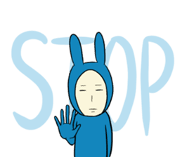 The Blue Guy [ENG] sticker #4755363