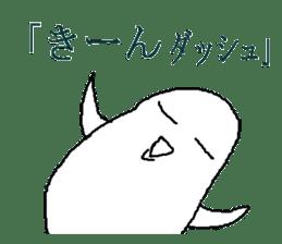 It is a loose white owl. sticker #4755391