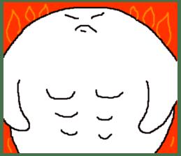 It is a loose white owl. sticker #4755413