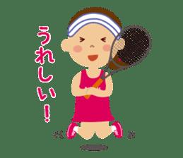 Tennis girls 2nd sticker #4755472