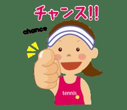 Tennis girls 2nd sticker #4755474