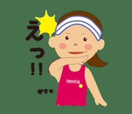 Tennis girls 2nd sticker #4755482