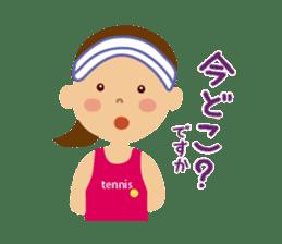 Tennis girls 2nd sticker #4755492
