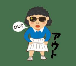 Tennis girls 2nd sticker #4755500