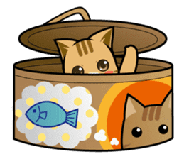 Chibi Nyatarou Sticker sticker #4755918