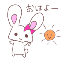 Rabbit idol  ONO-chan sticker #4756384