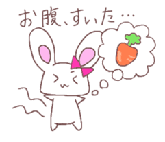 Rabbit idol  ONO-chan sticker #4756387