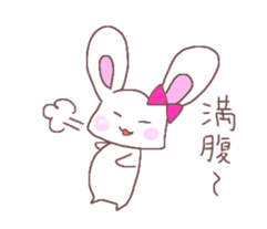 Rabbit idol  ONO-chan sticker #4756390