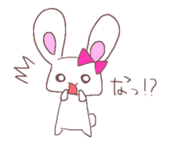 Rabbit idol  ONO-chan sticker #4756391